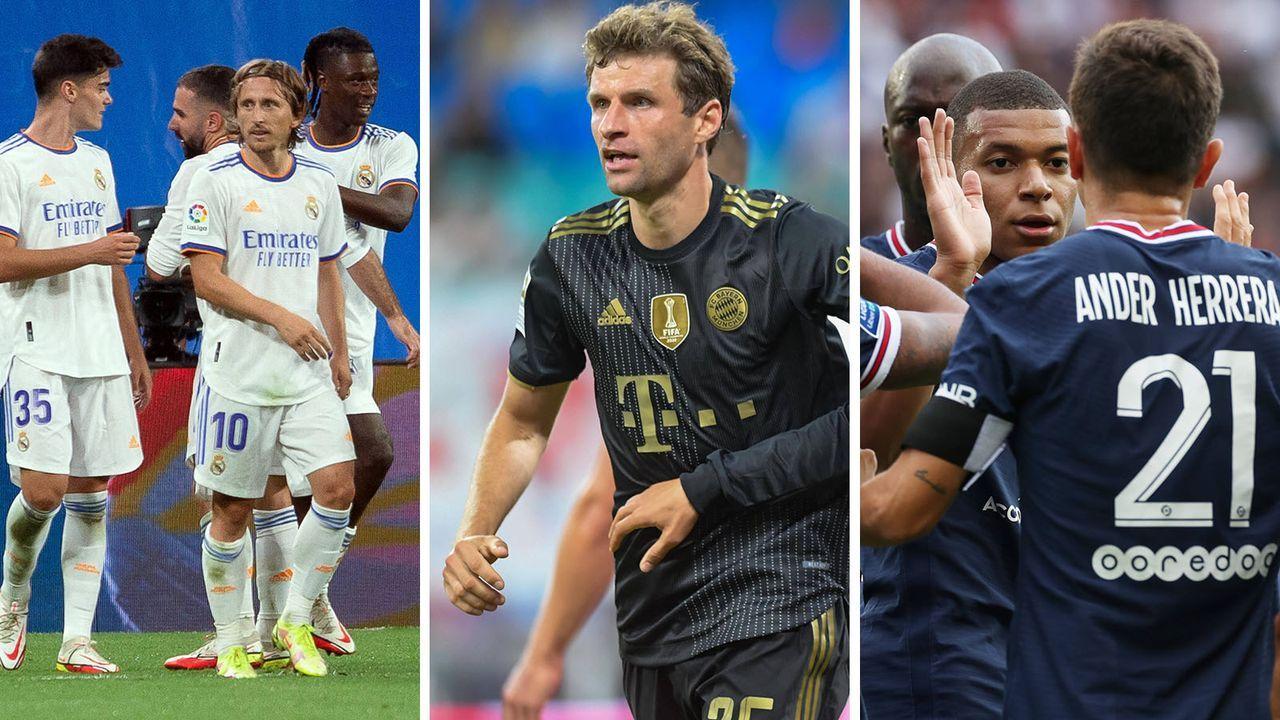 Das UEFA-Klubranking vor der neuen CL-Saison