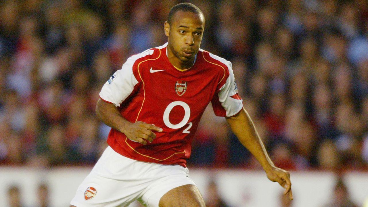 2004: Thierry Henry  - Bildquelle: 2004 Getty Images