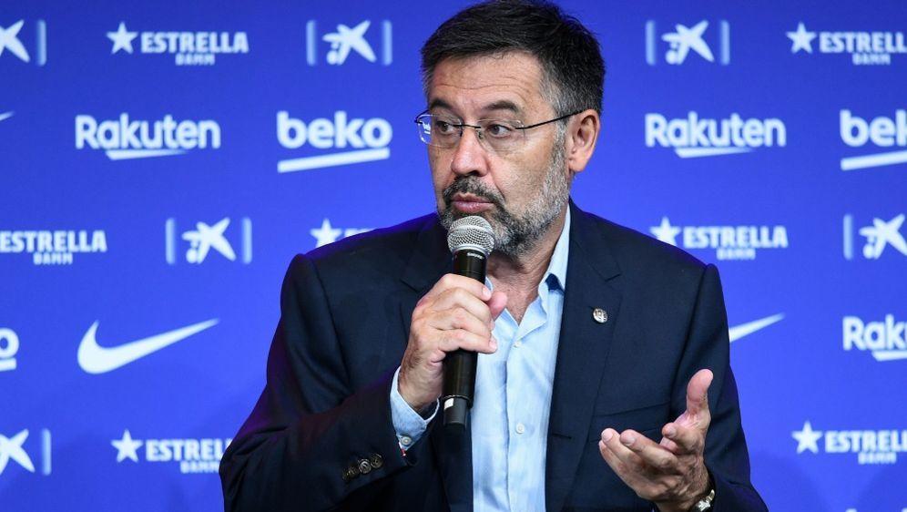 Josep Bartomeu hofft auf Verbleib von Lionel Messi - Bildquelle: AFPSIDJOSEP LAGO