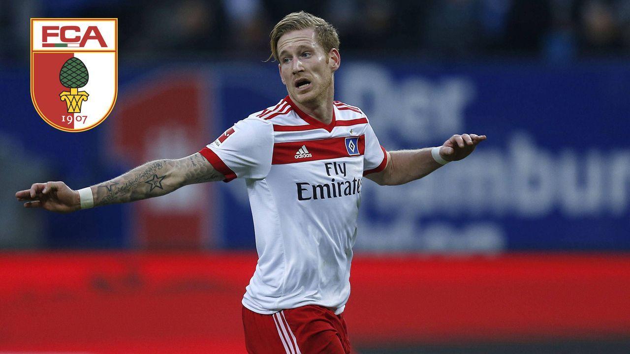 Andre Hahn (Zugang FC Augsburg) - Bildquelle: Imago