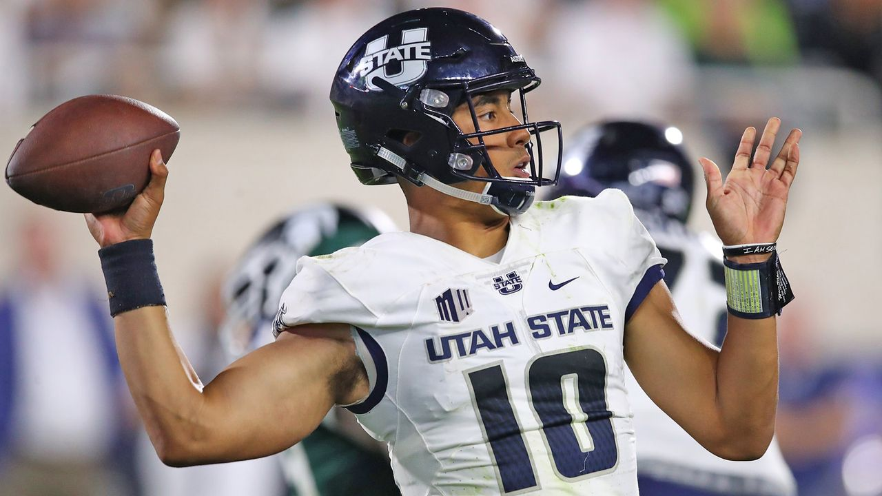 Jordan Love (Utah State)  - Bildquelle: getty