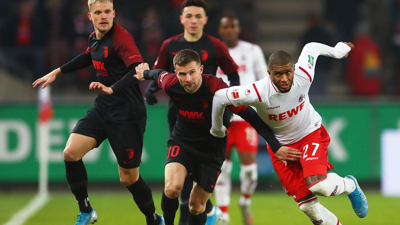 FC Augsburg (31 Punkte, -16 Tore) - 1. FC Köln (34 Punkte, -10 Tore) - Bildquelle: Getty Images