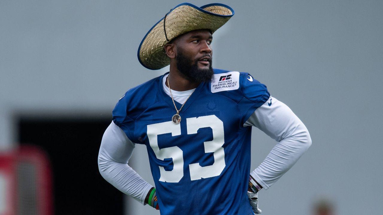4. Darius Leonard, Indianapolis Colts - Bildquelle: imago images/Icon SMI