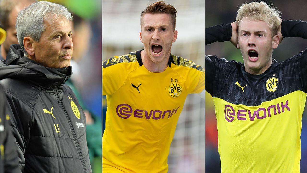 Fünf Thesen, warum es bei Borussia Dortmund überhaupt nicht rund läuft - Bildquelle: Imago