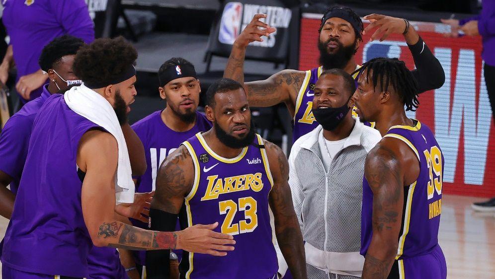 James führte die Lakers in die Finalserie - Bildquelle: GETTY IMAGES NORTH AMERICAGETTY IMAGES NORTH AMERICASIDKevin C. Cox