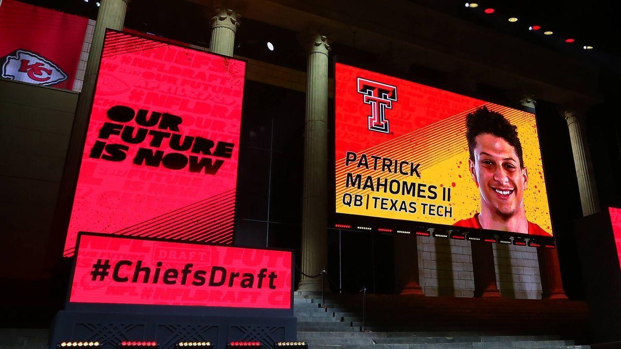 Patrick Mahomes (10. Pick im Draft 2017, Kansas City Chiefs) - Bildquelle: imago images/Icon SMI