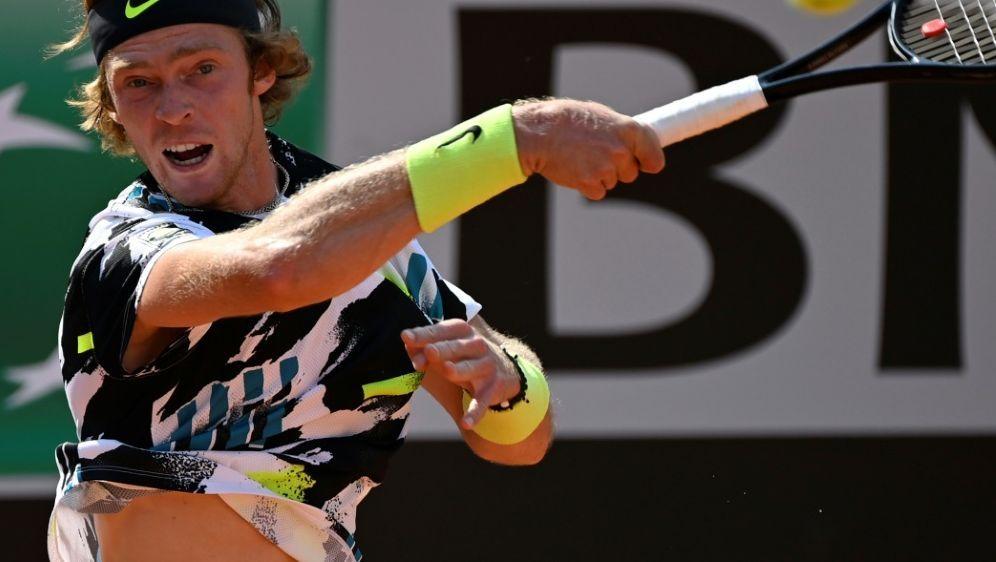 Rublew gewinnt sein Auftaktmatch ohne Mühe - Bildquelle: AFPSIDRiccardo Antimiani