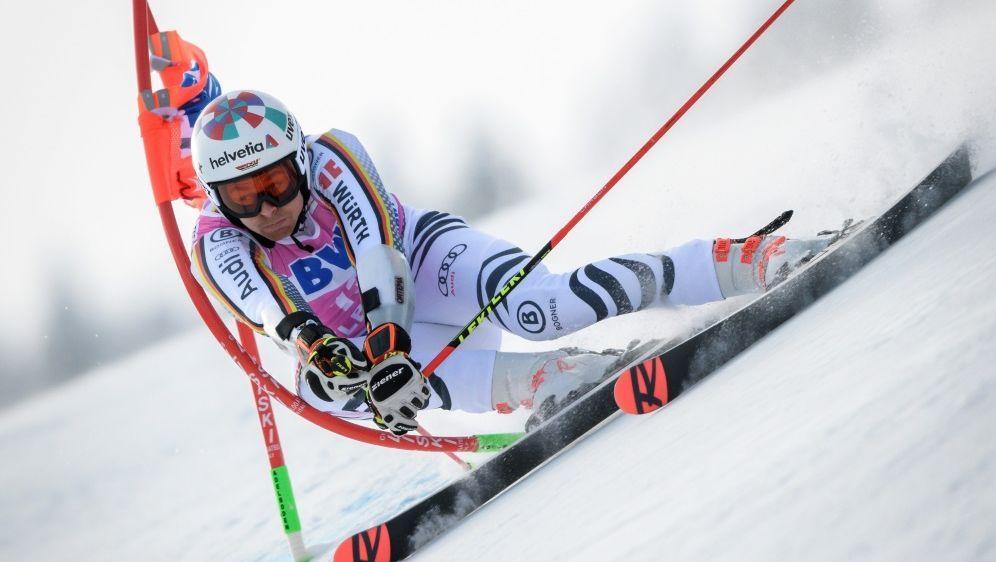 Riesenslalom: Luitz scheidet im Finale in Adelboden aus - Bildquelle: AFPSIDFabrice COFFRINI