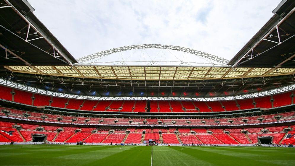 England trifft im leeren Wembley-Stadion auf Wales - Bildquelle: PIXATHLONPIXATHLONSID
