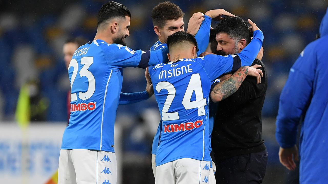 SSC Neapel (Platz 5 in der Serie A) - Bildquelle: Getty