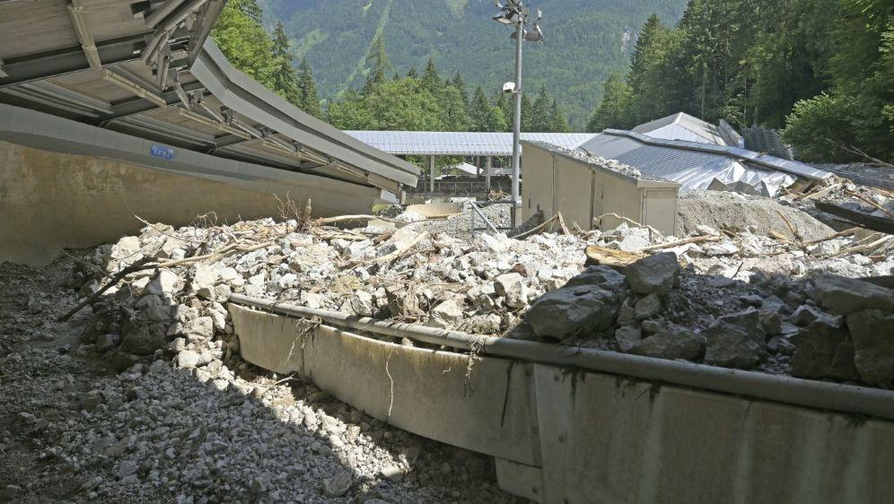 Zerstörte Bahn am Königssee: Winterberg springt ein - Bildquelle: AFPSIDUWE LEIN