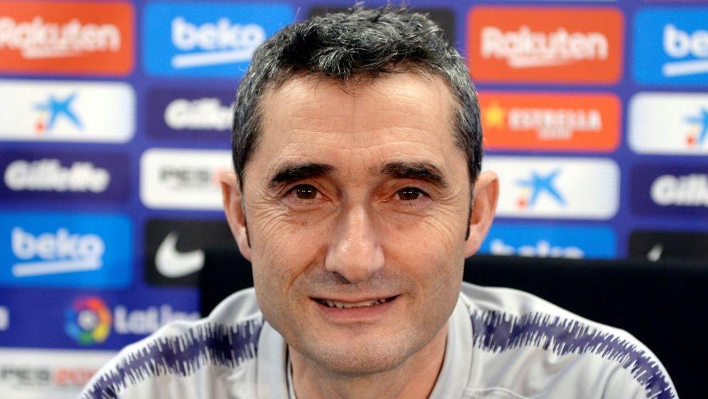 Ernesto Valverde ist seit 2017 Trainer beim FC Barcelona - Bildquelle: AFPSIDJosep LAGO