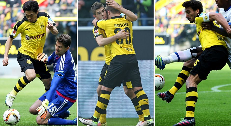 Dortmund Vs Hamburg