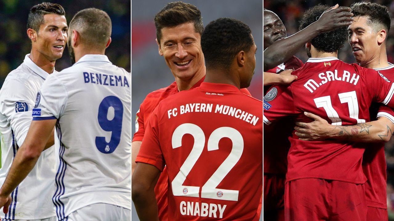 Die torgefährlichsten Duos in der Champions-League-Geschichte - Bildquelle: Getty Images/Imago
