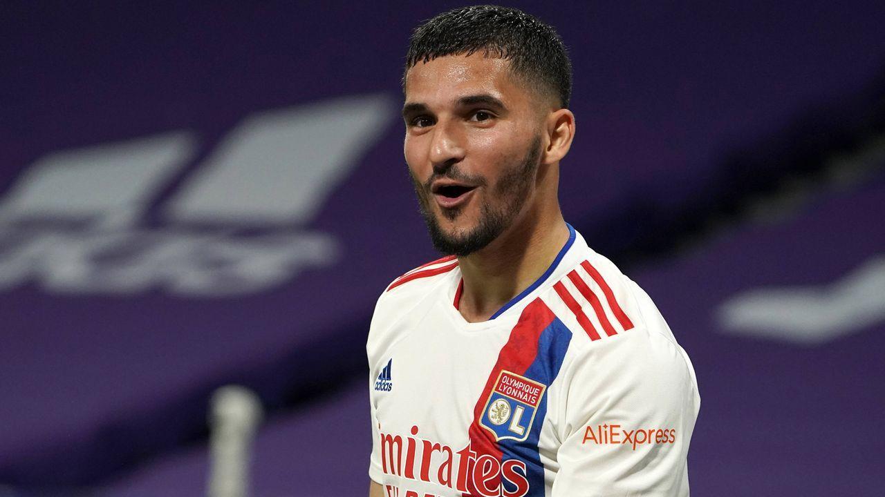 Houssem Aouar (Olympique Lyon) - Bildquelle: imago images/Buzzi