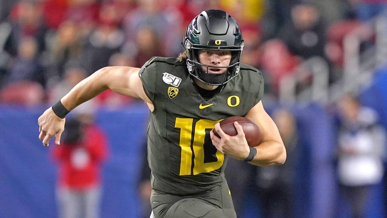 Justin Herbert (Oregon) - Bildquelle: 2019 Getty Images