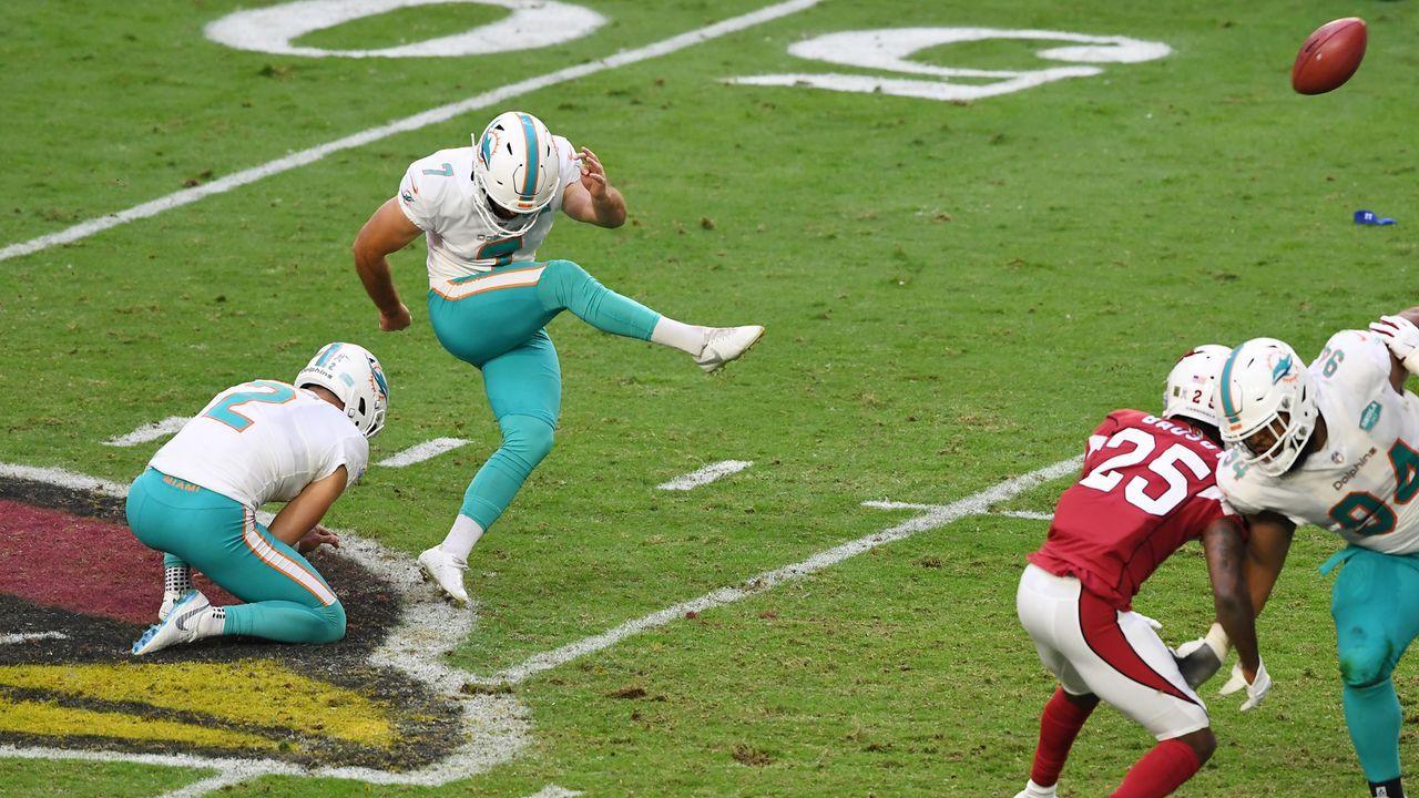 Special Teams und Kicker: Miami Dolphins - 14 Punkte - Bildquelle: 2020 Getty Images