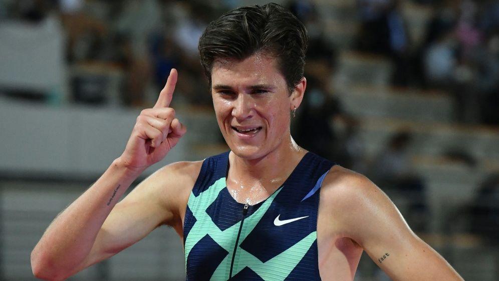 Jakob Ingebrigtsen knackt den Europarekord über 5000 m - Bildquelle: AFPSIDTIZIANA FABI