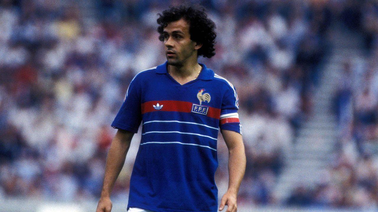 EM 1984: Michel Platini (Frankreich) - Bildquelle: Imago Images