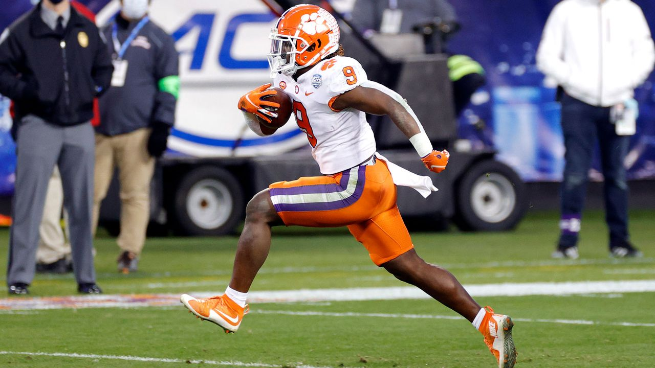 Travis Etienne (Clemson) - Bildquelle: Getty Images