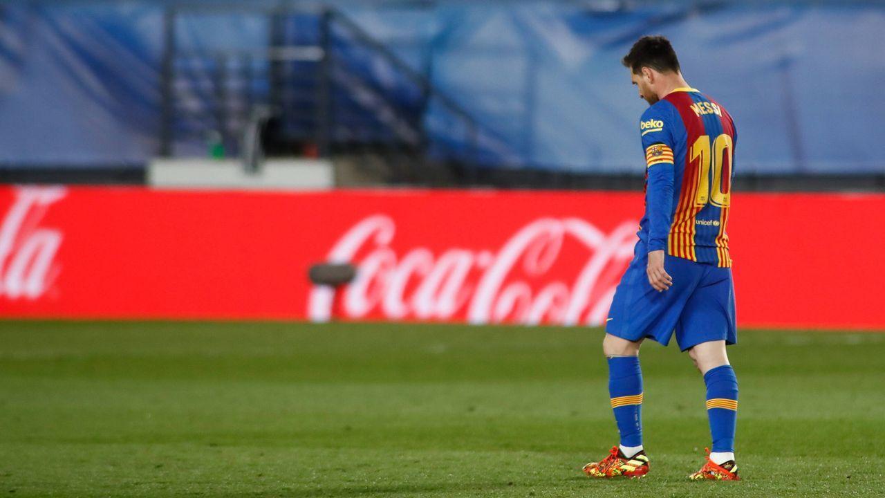 Fazit: Messi kann das Spiel nicht an sich reißen - Bildquelle: imago images/ZUMA Wire