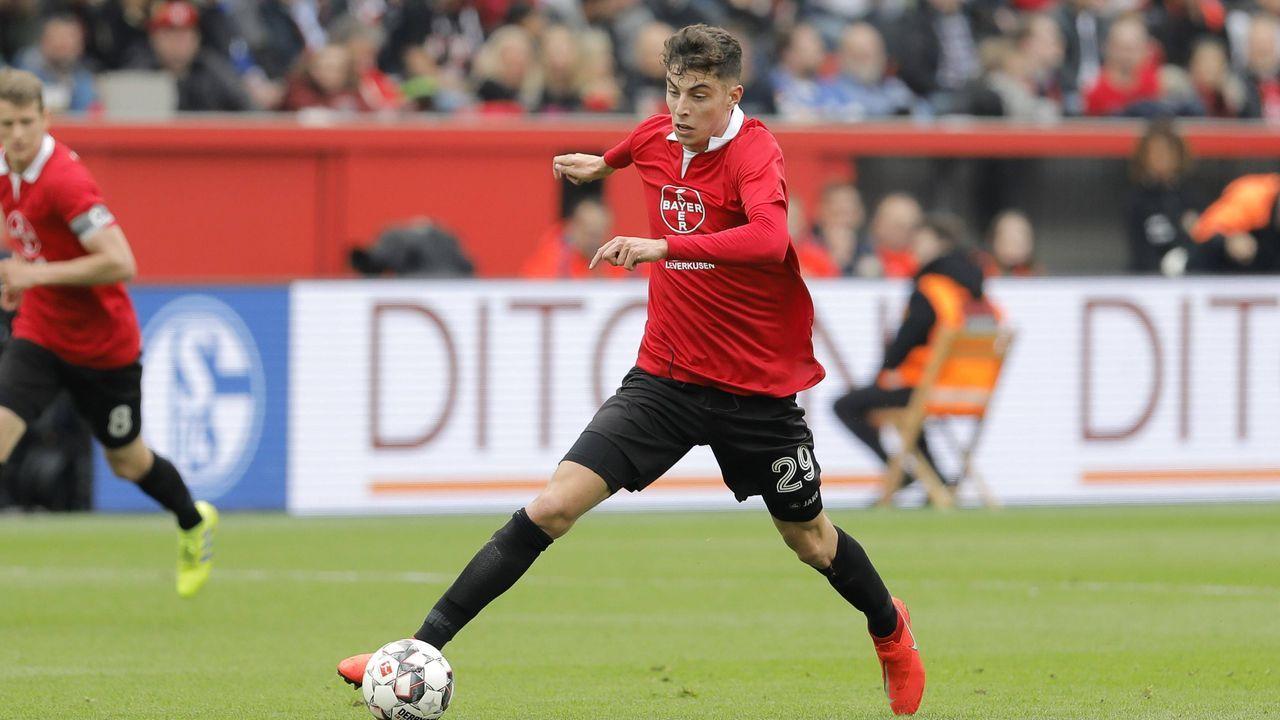 Kai Havertz (Bayer Leverkusen) - Bildquelle: imago images / mika