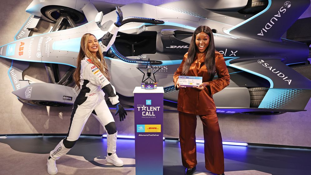 Die 21-jährige Derin Adetosoye hat den Nachwuchswettbewerb der Formel E gewo... - Bildquelle: 2020 Dave Benett