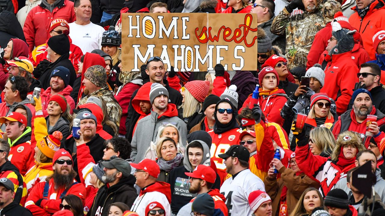 Gewinner: Chiefs-Fans - Bildquelle: Getty