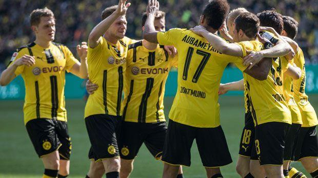 Platz 2: Borussia Dortmund - Bildquelle: 2017 Getty Images