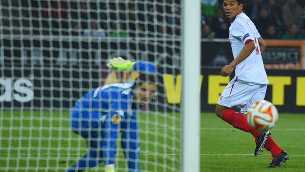 Borussia Mönchengladbach muss sich dem FC Sevilla geschlagen geben - Bildquelle: Getty Images