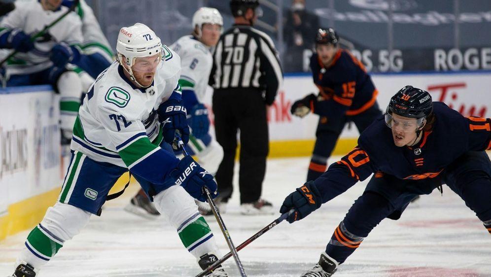 Die Oilers verlieren gegen die Canucks - Bildquelle: AFPGETTY SID