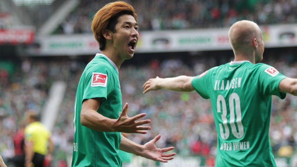 Bremen feiert den ersten Saisonsieg. - Bildquelle: FIROFIROSID