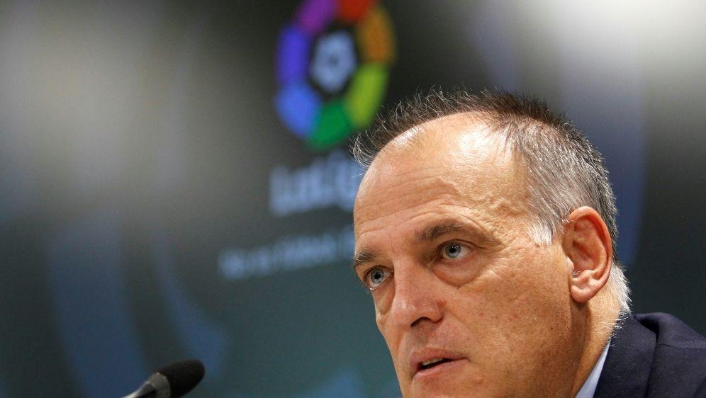 Liga-Präsident Tebas nennt mögliche Termine für Neustart - Bildquelle: PIXATHLONPIXATHLONSID