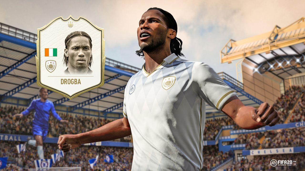 FIFA 20 Icons: Didier Drogba - Bildquelle: EA SPORTS