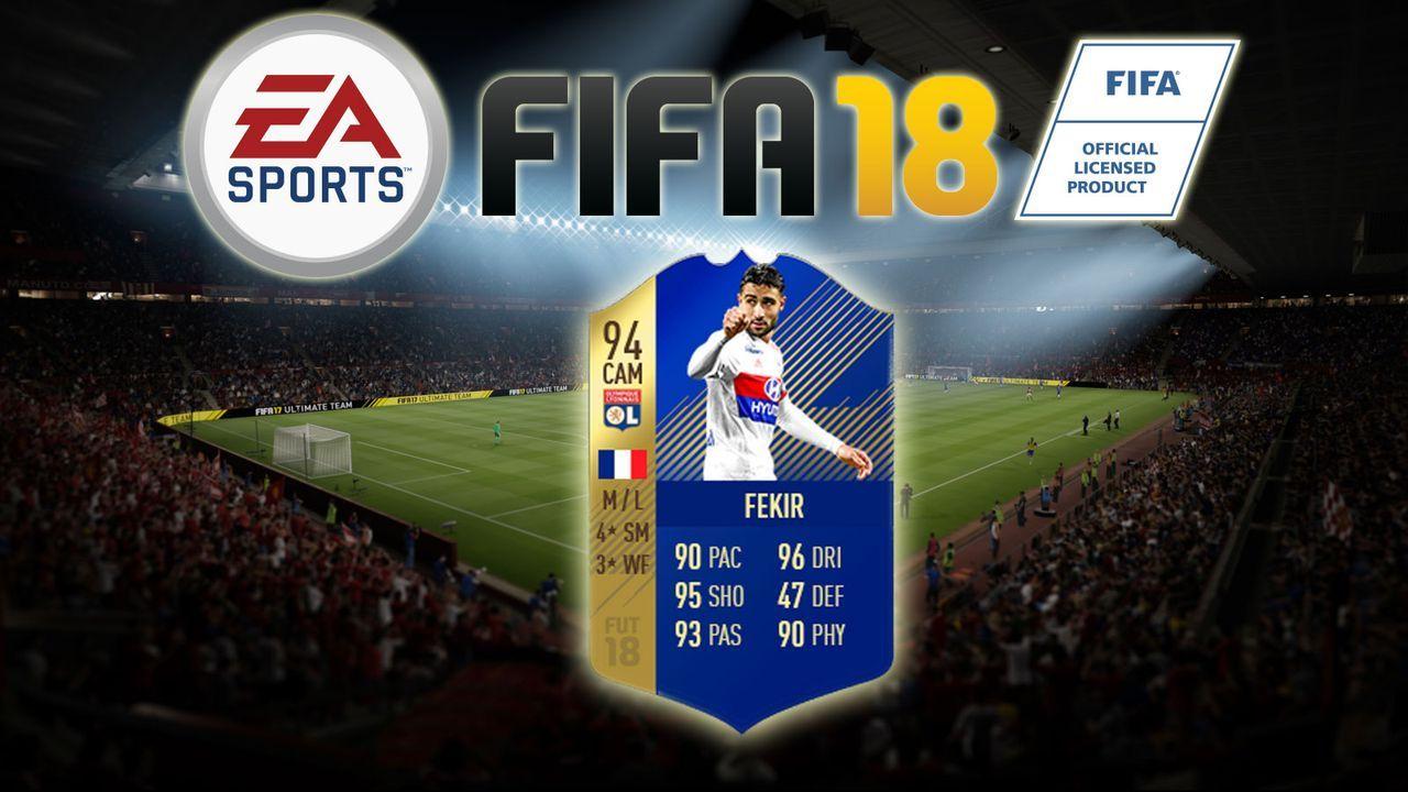 Nabil Fekir - Bildquelle: EA Sports