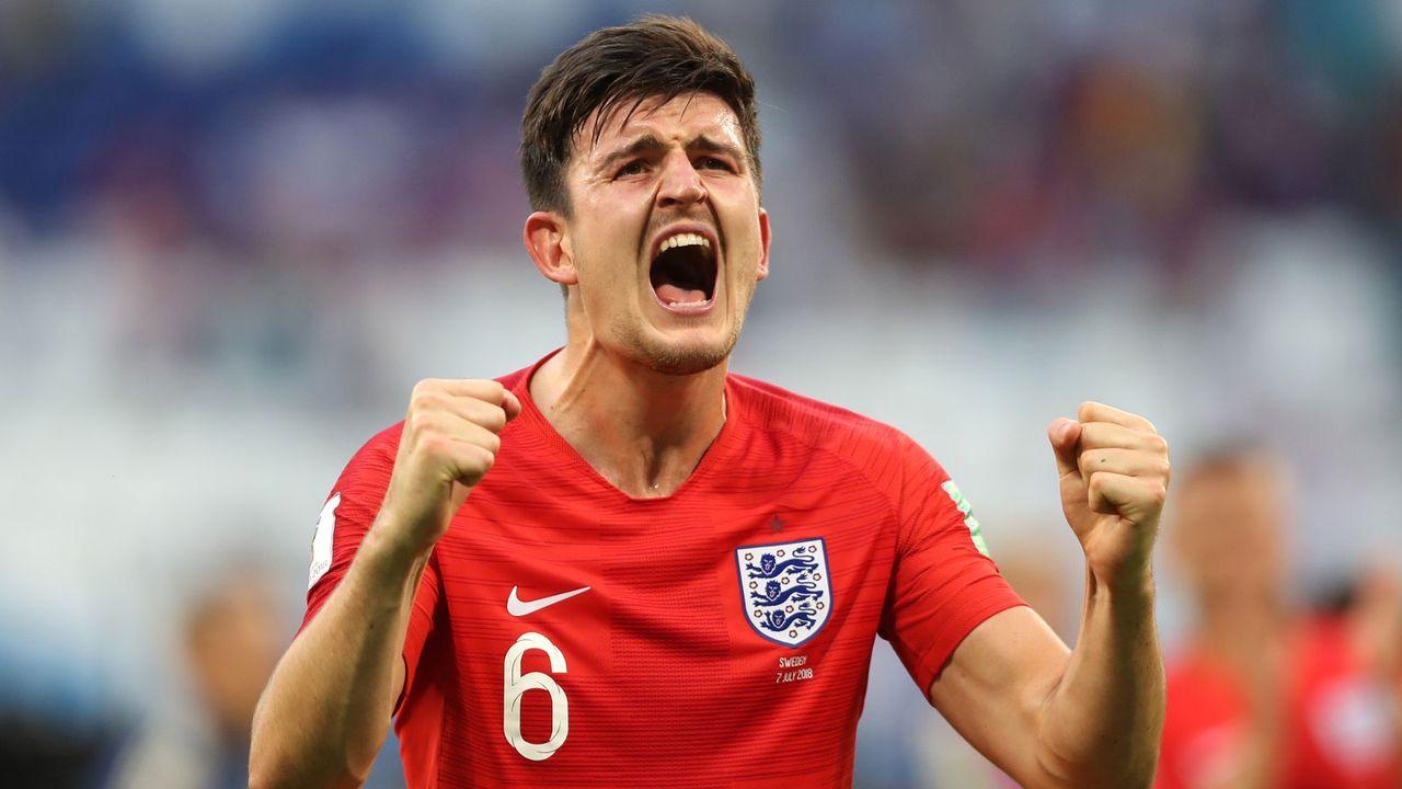 Linker Verteidiger: Harry Maguire (25, England) - Bildquelle: 2018 Getty Images