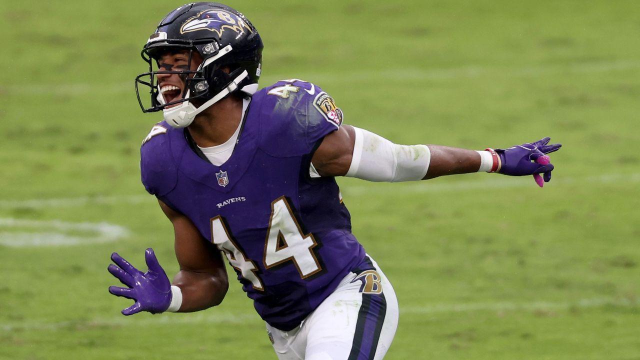 Cornerback: Marlon Humphrey (Baltimore Ravens) - Bildquelle: 2020 Getty Images