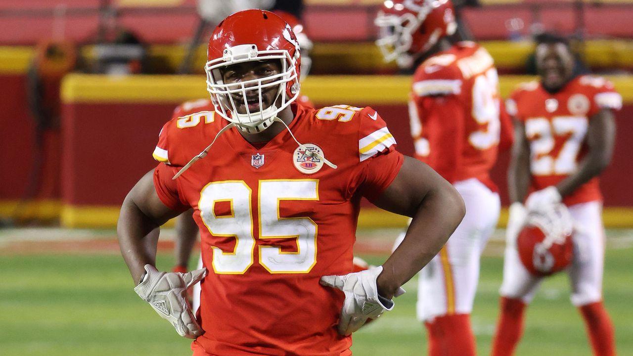 12. Platz: Chris Jones (Defensive Tackle, Kansas City Chiefs) - Bildquelle: Getty Images