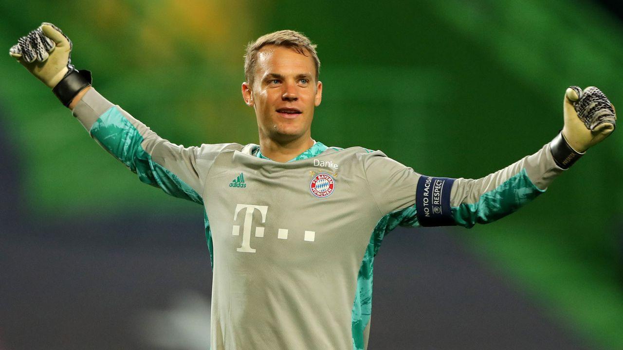 Platz 13: Manuel Neuer - Bildquelle: 2020 Getty Images