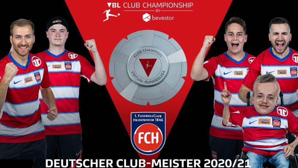 Gewinner der VBL: 1. FC Heidenheim. - Bildquelle: twitter: @vbl_official