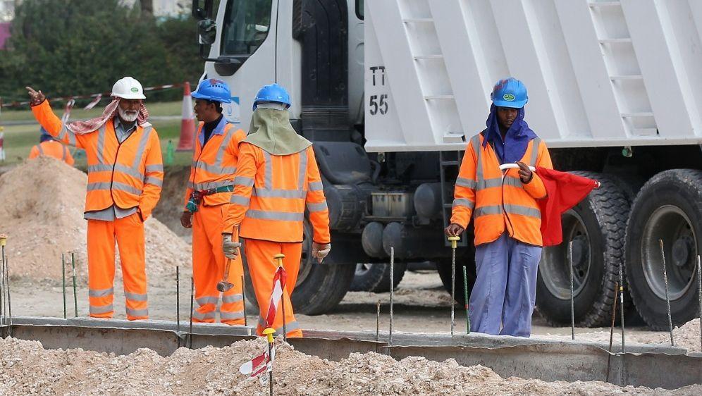 Fußball-WM soll auf Missstände in Katar hinweisen - Bildquelle: firo Sportphotofiro SportphotoSIDfiro Sportphoto
