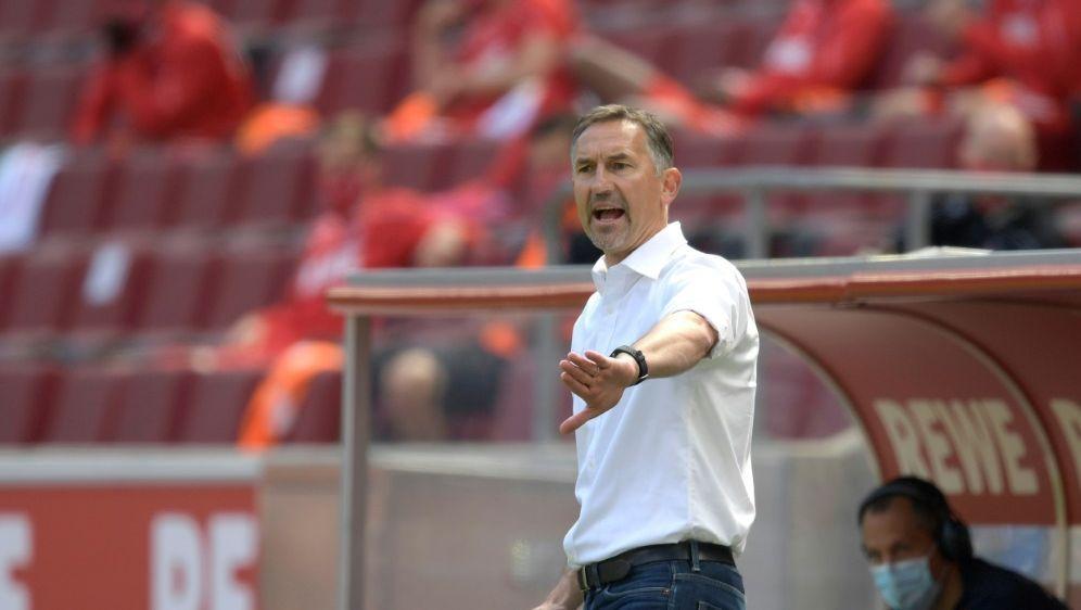 Mit Zuversicht ins Spiel gegen RB: Achim Beierlorzer - Bildquelle: FIROFIROSIDAnke Waelischmiller