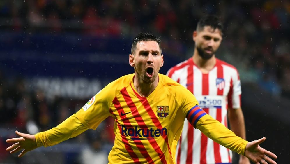 Messi wurde erneut zu Barcas Matchwinner - Bildquelle: AFPSIDGABRIEL BOUYS