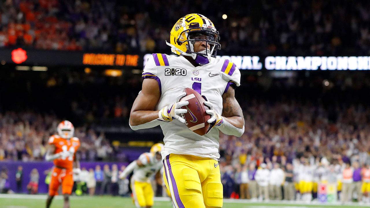 7. Pick - Detroit Lions: Ja'Marr Chase (WR, LSU) - Bildquelle: Getty Images