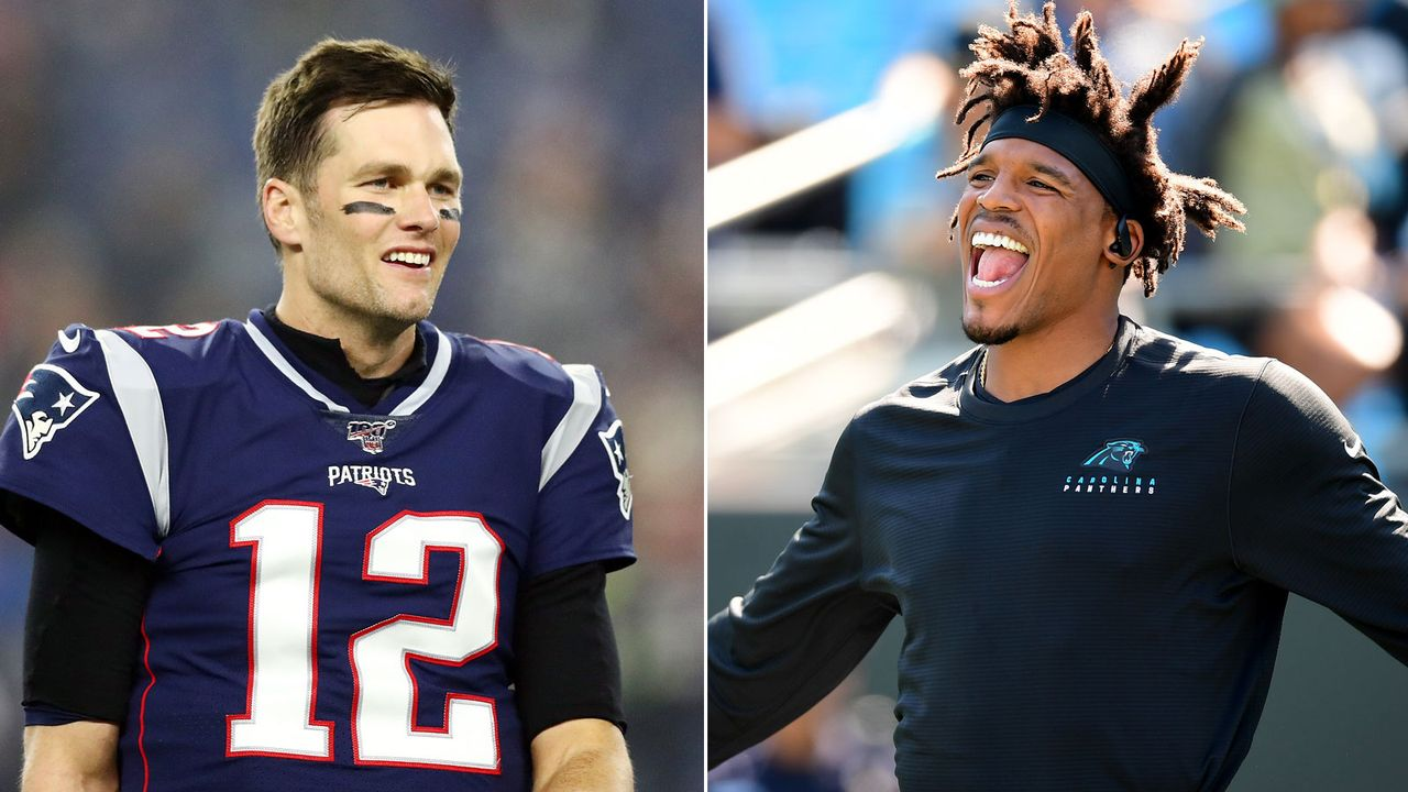 Tom Brady vs. Cam Newton - der große Zahlenvergleich - Bildquelle: Getty Images