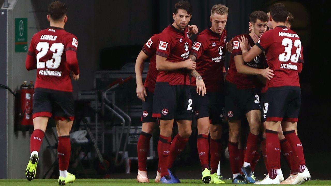 Platz 18 - 1. FC Nürnberg - Bildquelle: 2018 Getty Images