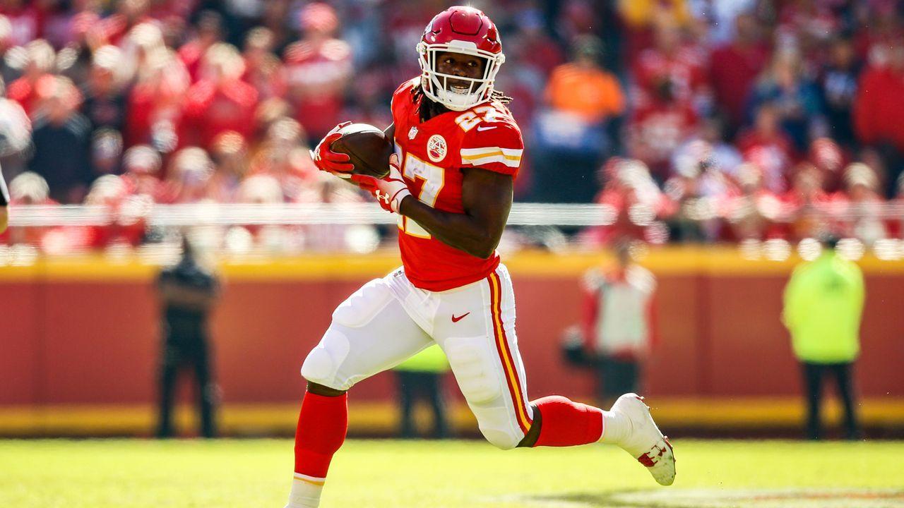 Kareem Hunt (Kansas City Chiefs, Running Back) - Bildquelle: 2018 Getty Images