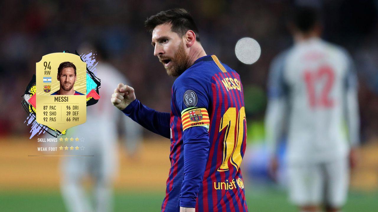 1. Lionel Messi (FC Barcelona)  - Bildquelle: 2019 Getty Images