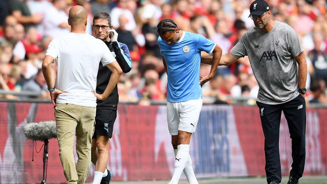 Leroy Sane gegen Liverpool - Bildquelle: 2019 Getty Images