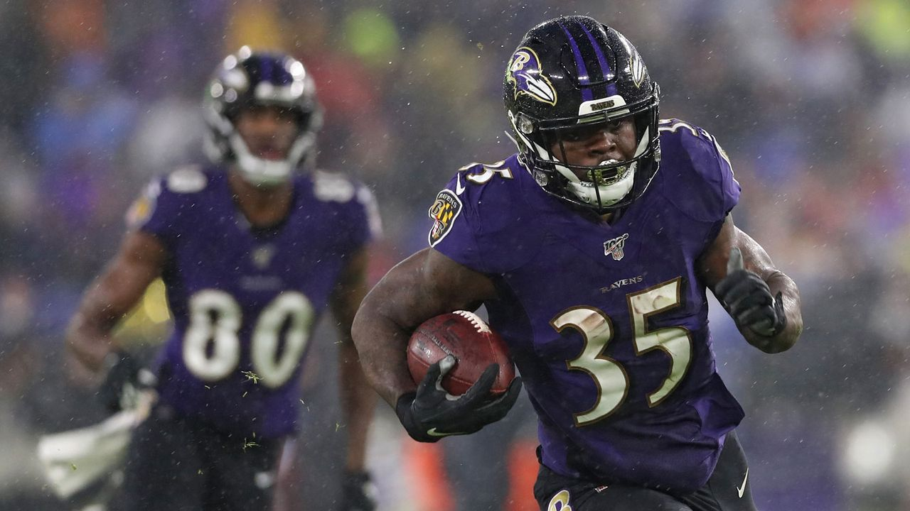 17. Spieltag: Ravens knacken Rushing Yards-Rekord - Bildquelle: 2019 Getty Images